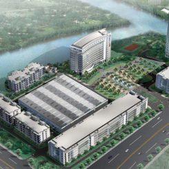 Jinlong Machinery Facility - buliding