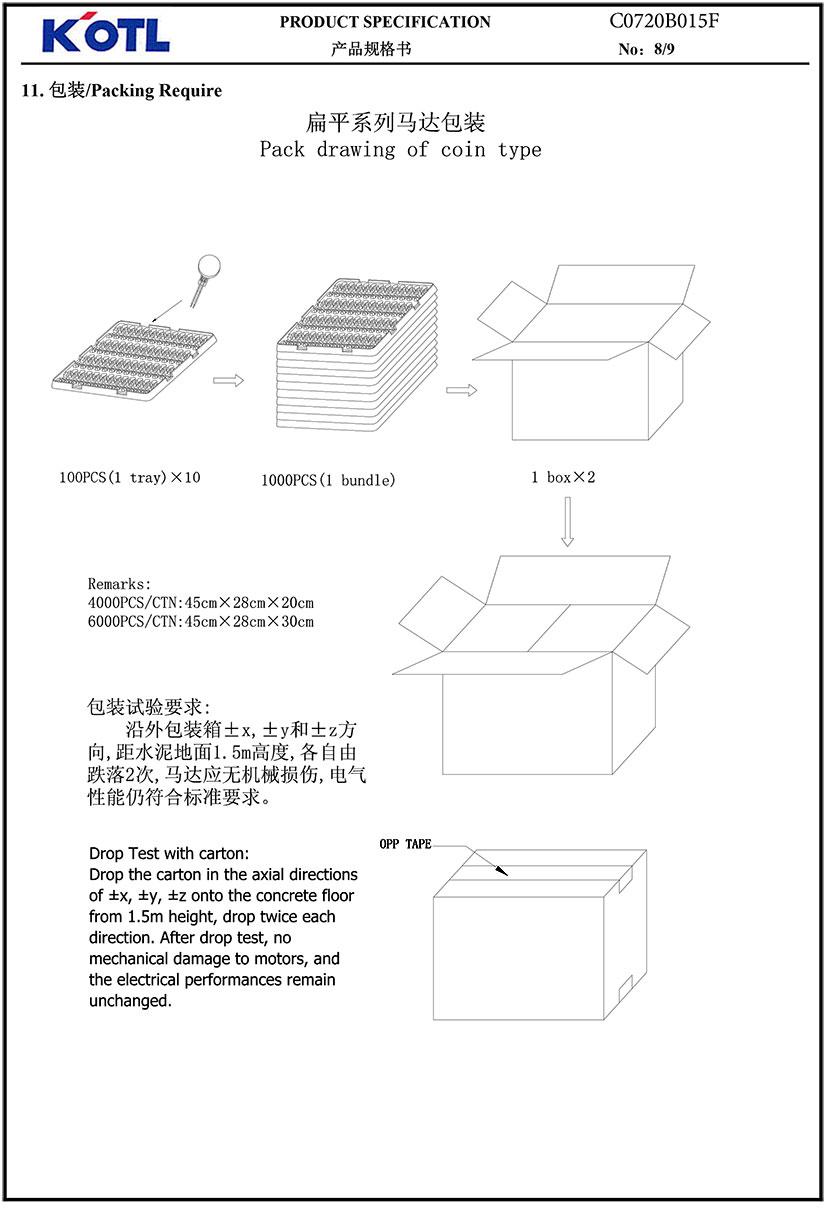 C0720B015F Coin Vibration Motor 06