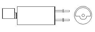 Cylindrical Vibration Motors - WIRE LEAD TYPE