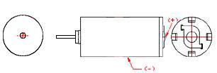 Micro Motors - LIGHT BULB STYLE REAR CONTACT