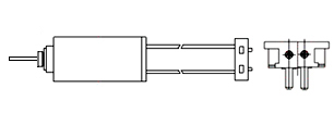 Micro Motors - WIRE LEAD w. CONNECTOR
