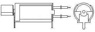 Cylindrical Vibration Motors - WIRE LEAD W. PCB BRACKET