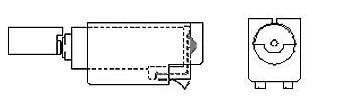 Cylindrical Vibration Motors - COMPRESSION SPRING MOUNT