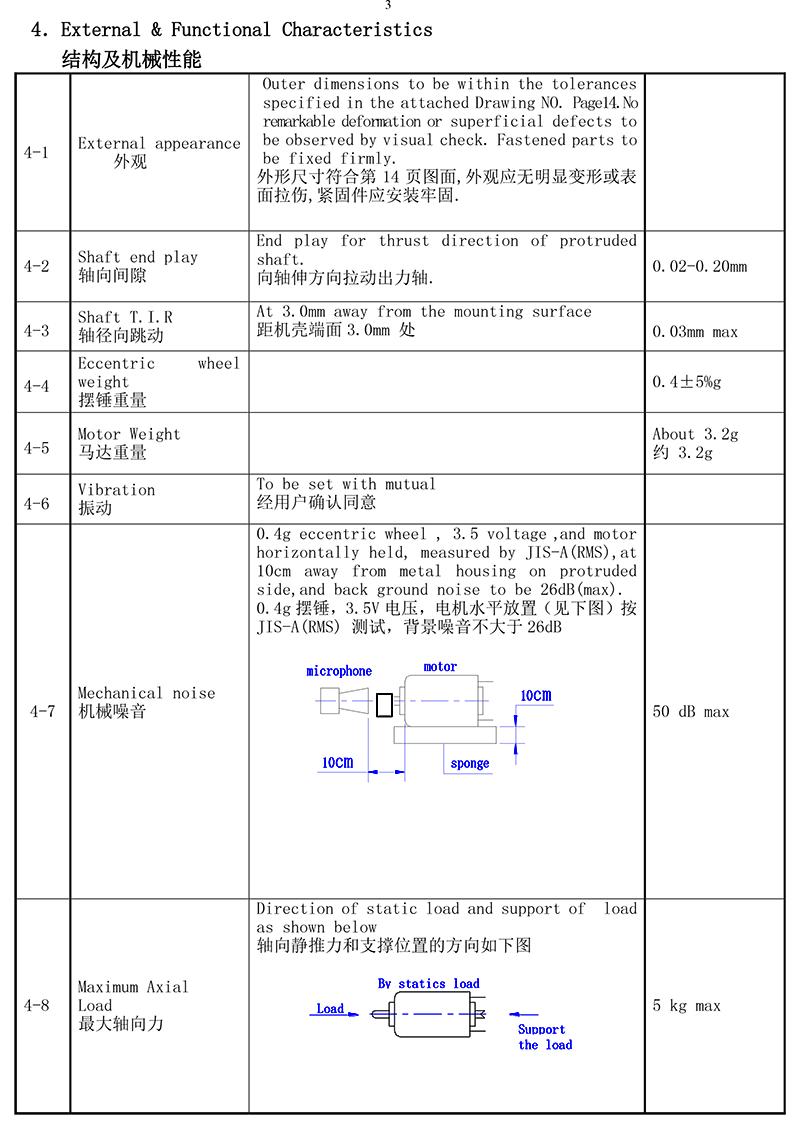 JP10-35C270 Cylindrical Vibration Motor 03