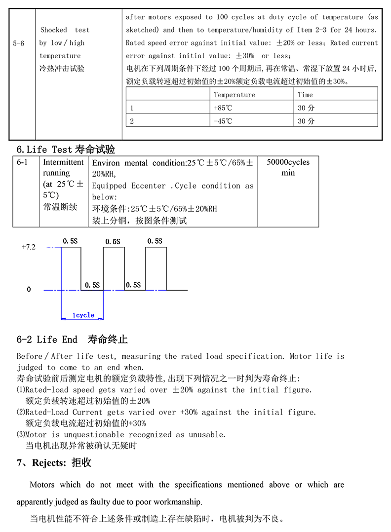 JP16-70E310 Cylindrical Vibration Motor 05