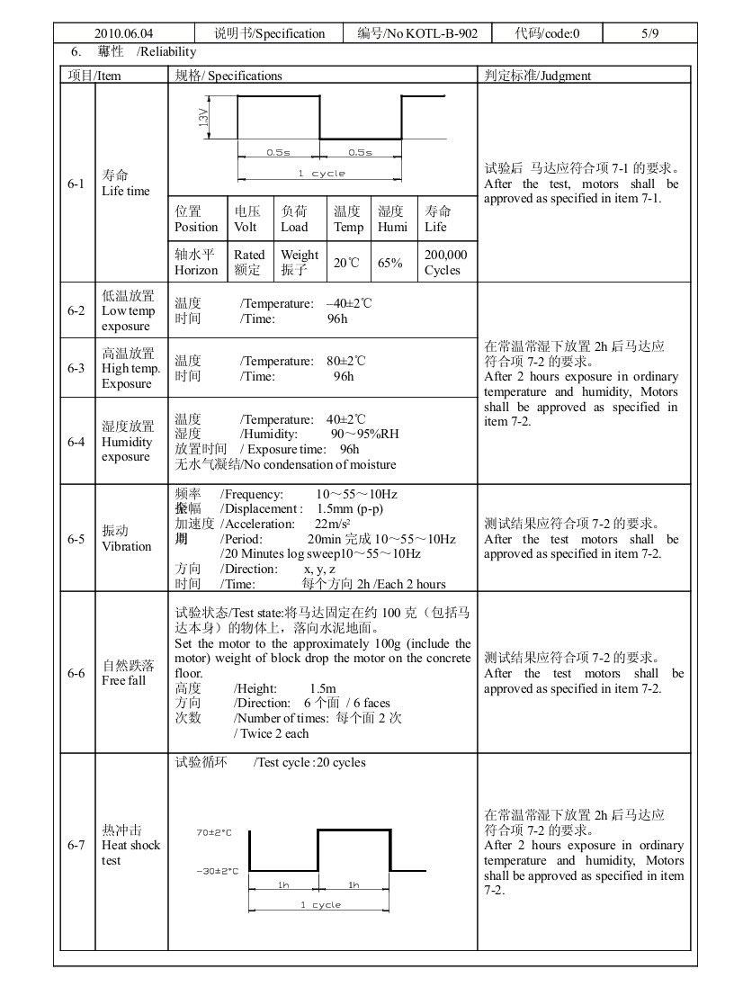 Z4TH5A0300061 Leaf Spring Contacts SMT Vibration Motor 03