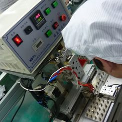 Vibration Motor Factory Production Line - heat bonder