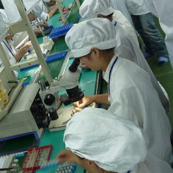 Vibration Motor Factory Production Line - COIL ASSEMBLY WORK STATIONS