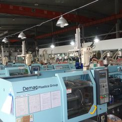 Jinlong Machinery Facility - INJECTION MOLDING FACILITY