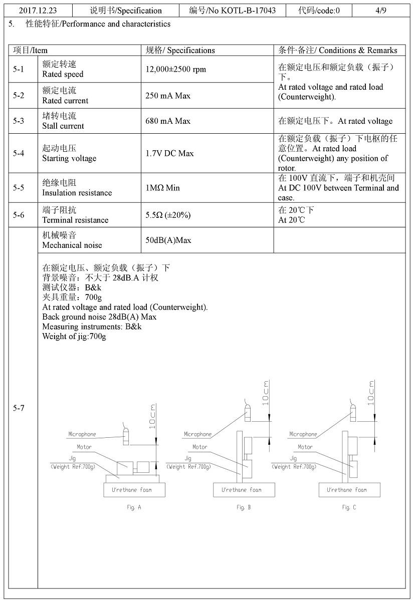 Z7AL2B169208T Encapsulated Vibration Motor 04
