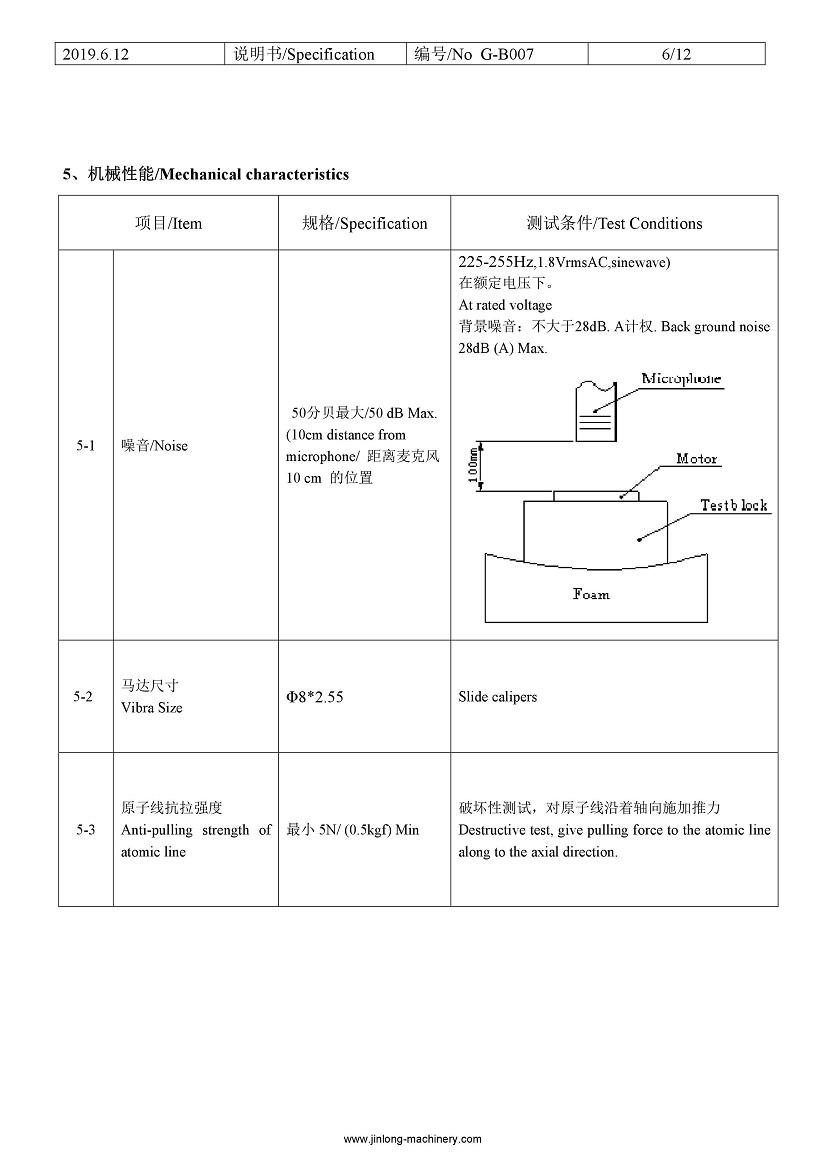 G0825001D smallest LRA coin vibration motor 07