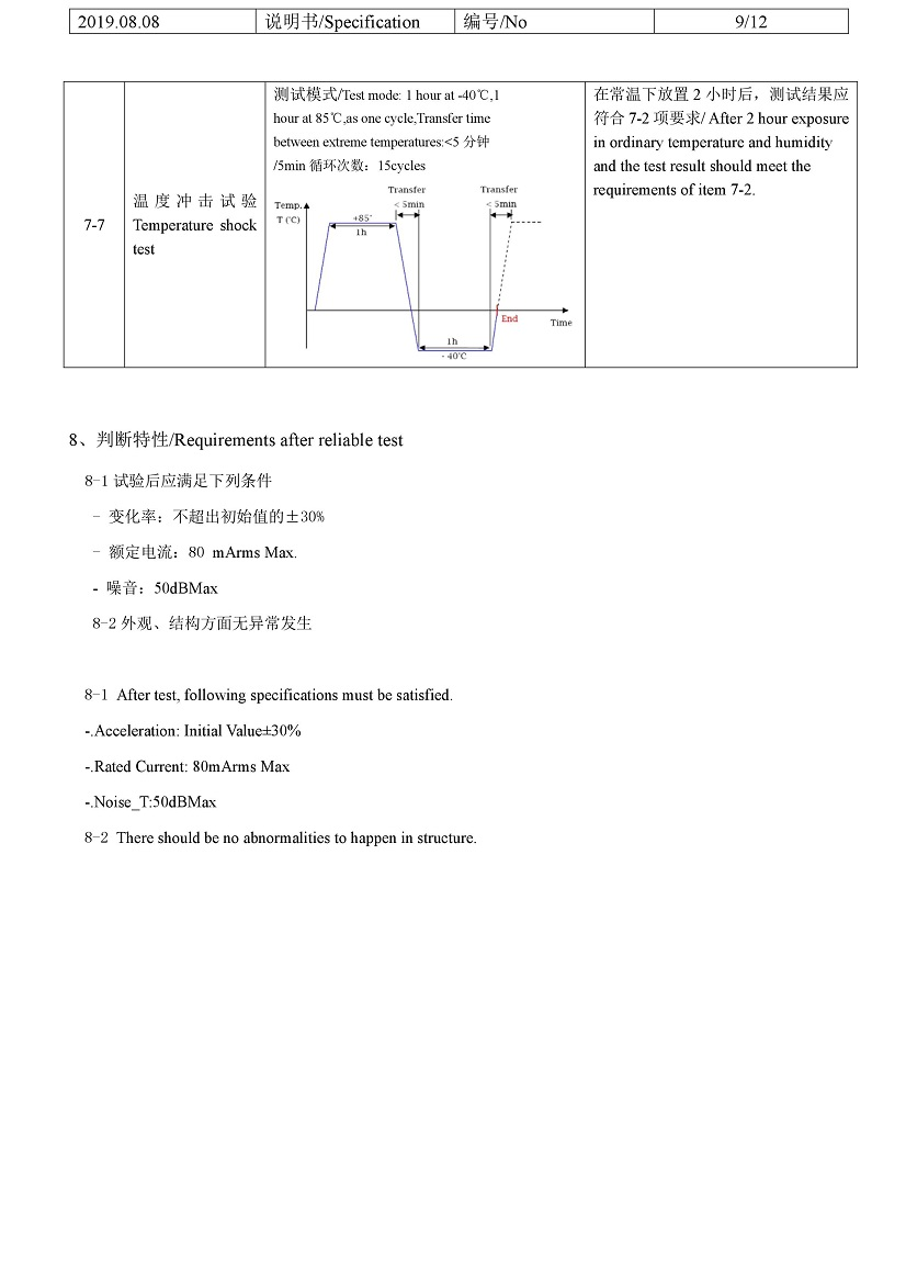 G0832006 LRA coin vibration motor 10