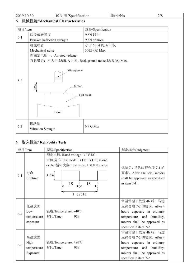 C1030B813L 3V Coin Vibration Motor 04