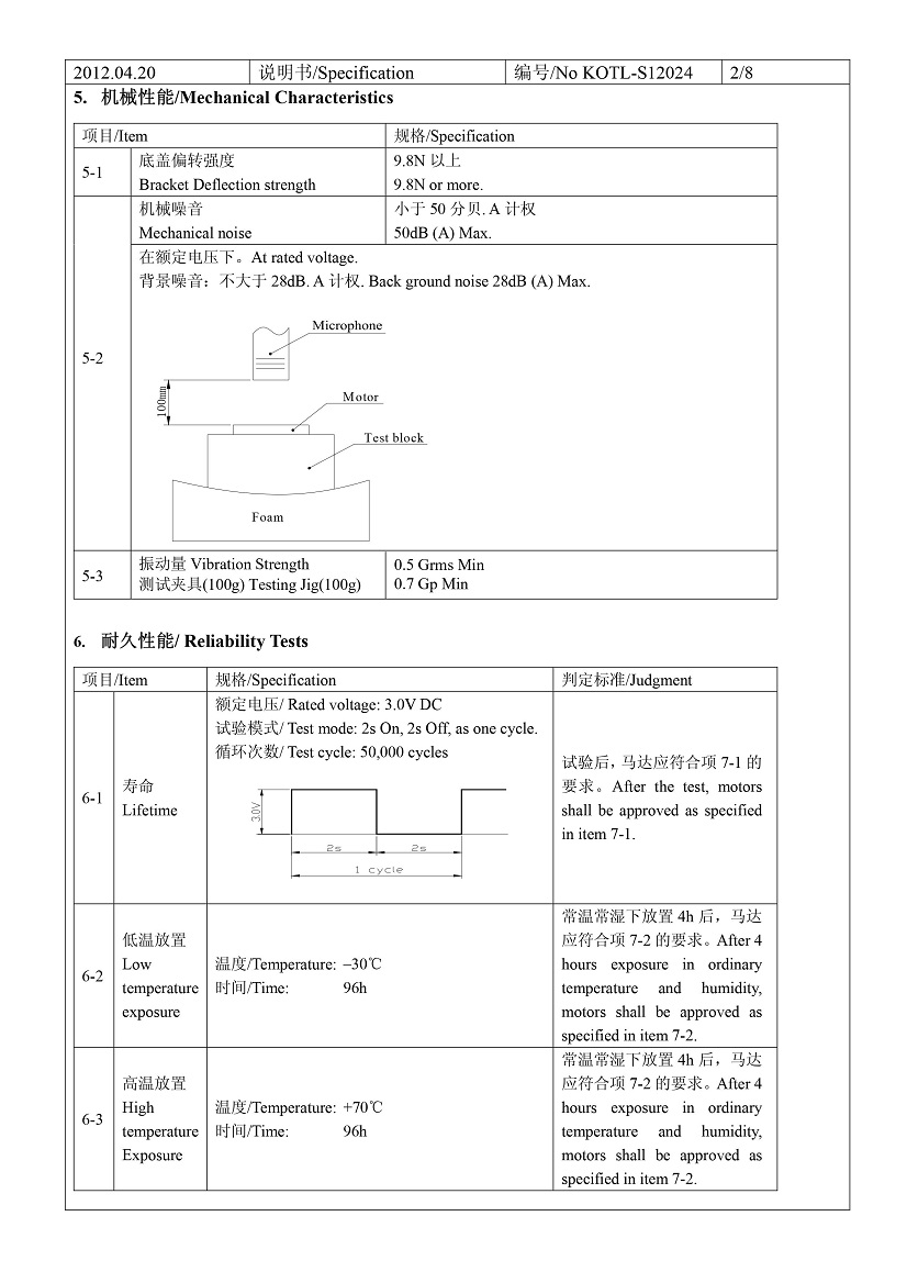 C0827B005F Coin Vibration Motor Mechanical 04